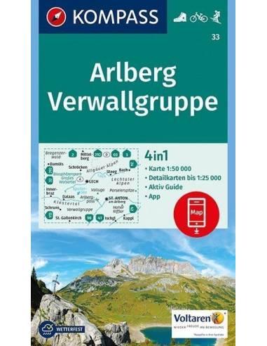 KK 33 Arlberg, Verwallgruppe...