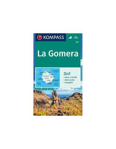 KK 231 La Gomera térkép