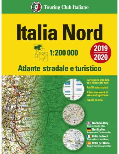 Italia Nord - Észak-Olaszország atlasz