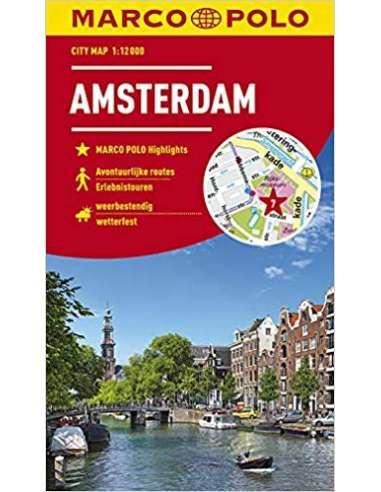 Amszterdam City Map laminált...