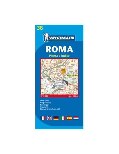 MN 38 Róma térkép - Roma