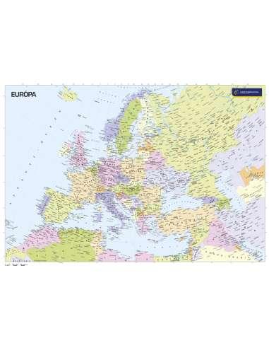 Európa országai - kisméretű falitérkép