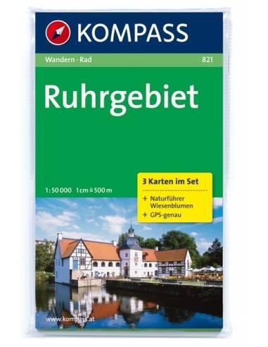 KK 821 Ruhrgebiet túra- és kerékpáros...