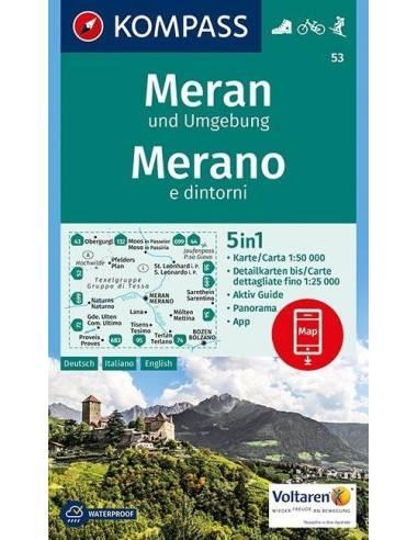 KK 53 Meran und Umgebung / Merano e...