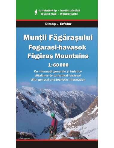 Fogarasi-havasok térkép - Munţii...