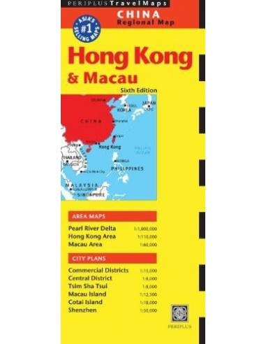 Hong Kong & Macau Travel Map