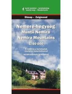Nemere-hegység térkép -...