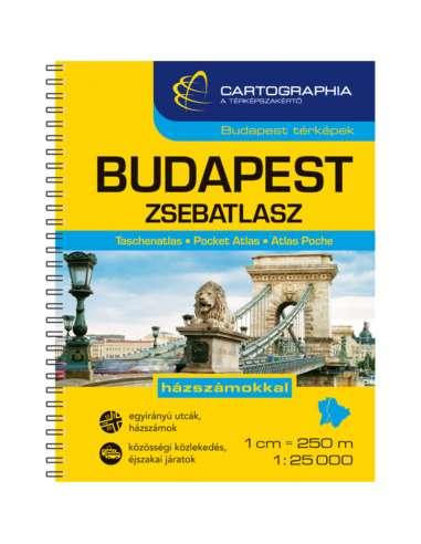 Budapest zsebatlasz spirál