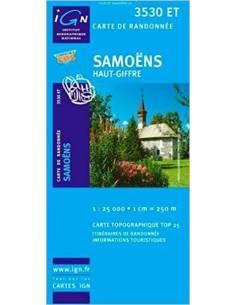 Samoëns, Haut-Giffre térkép...