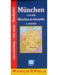 München várostérkép,...