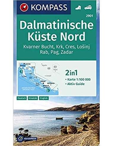 KK 2901 - Dalmát tengerpart észak...