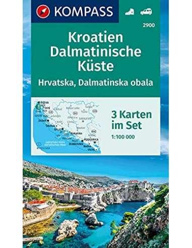 KK 2900 Kroatien Dalmatinische Küste...