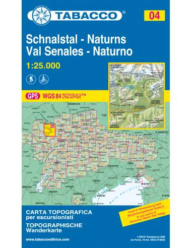 TO 004 Schnalstal - Naturns -  Val...