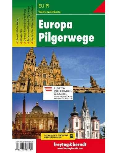 Európa zarándokútjai térkép - Europa...