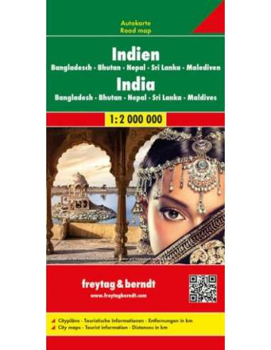 India - Nepál - Bangladesh - Bhutan -...