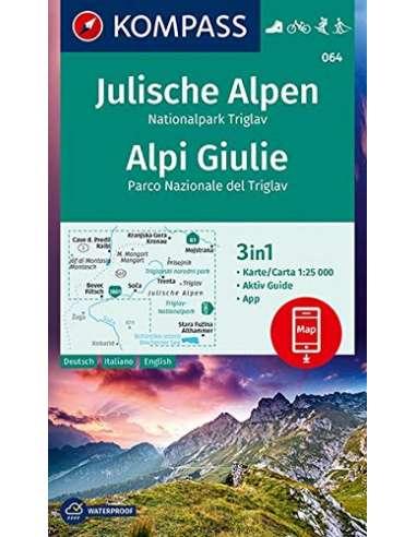 KK 064 Julische Alpen - Júliai Alpok...