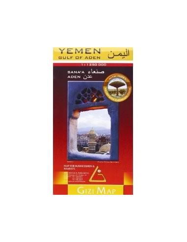 Jemen - Yemen (Ádeni-öböl) térkép