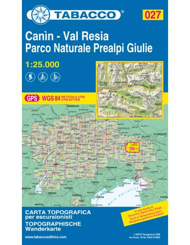 TO 027 Canin - Val Resia - Parco...