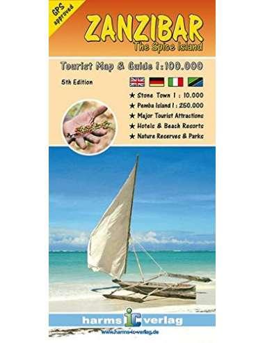 Zanzibar - The Spice Island térkép