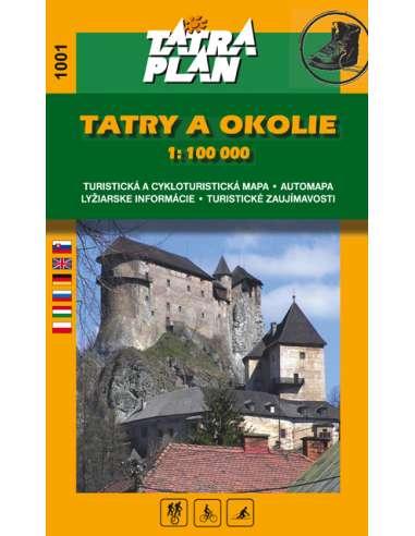 TM 1001 Tatry a okolie - A Tátra és...