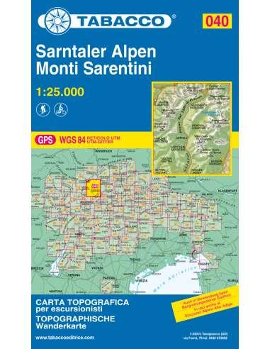 TO 040 Monti Sarentini - Sarntaler...