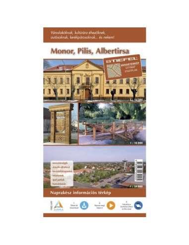 Monor - Pilis - Albertirsa várostérkép