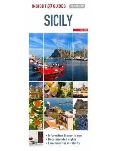 Sicily Insight Flexi Map -...
