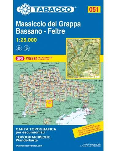 TO 051 Massiccio del Grappa - Bassano...