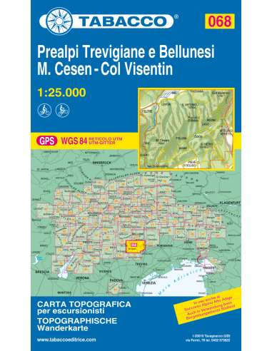 TO 068 Prealpi Trevigiane e Bellunesi...