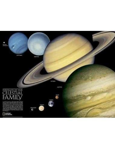 Naprendszer - Solar System falitérkép