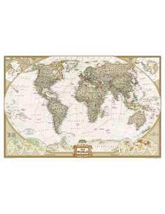 World - Világtérkép antik...