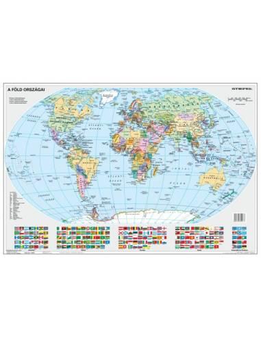 Föld országai - Gyermek világtérkép -...