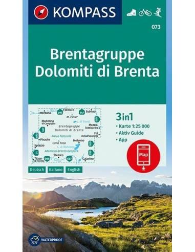 KK 073 Brentagruppe - Dolomiti di...