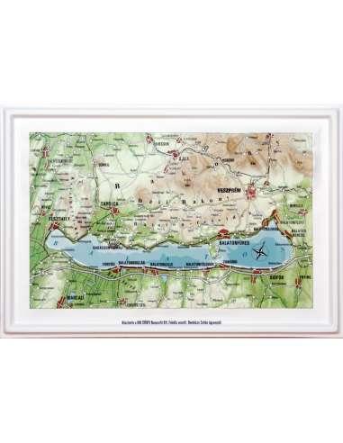 Balaton dombortérképe kicsi