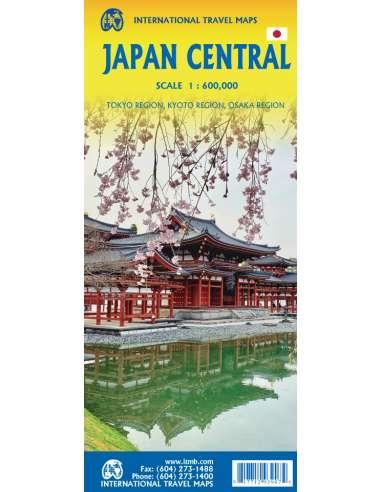 Japan Central - Közép-Japán térkép
