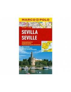 Sevilla laminált térkép -...