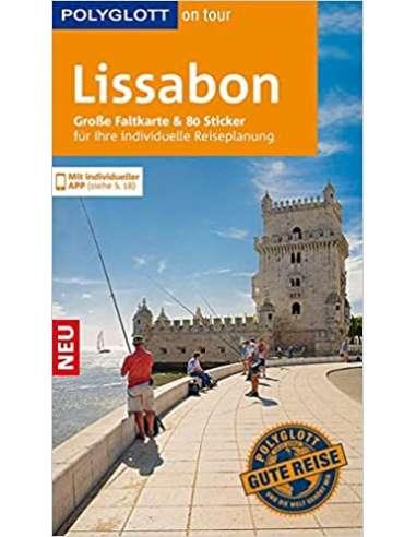Lissabon Polyglott útikönyv és térkép...