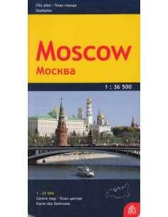 Moszkva térkép
