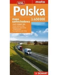 Lengyelország XXL autótérkép