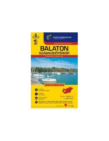 Balaton szabadidőtérkép
