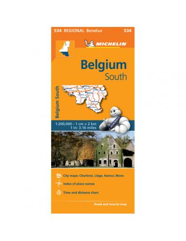 MN 534 Belgium South - Dél-Belgium...