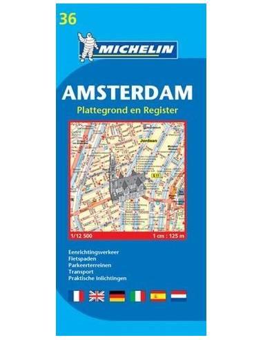 MN 36 Amszterdam térkép - Amsterdam -...