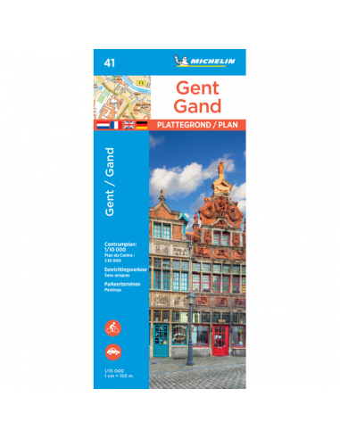 MN 41 Ghent - Gent - Gand térkép