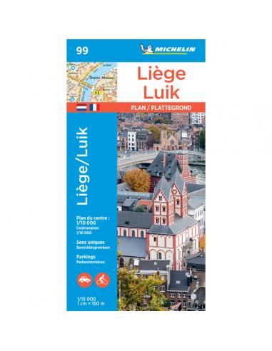 MN 99 Liege - Luik térkép