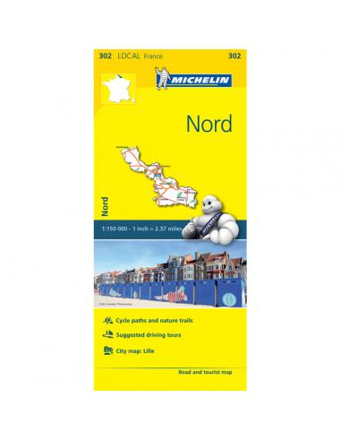 MN 302 Nord térkép