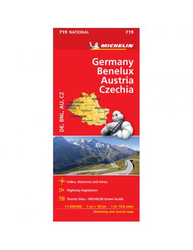 MN 719 Germany-Benelux-Austria-Czech...
