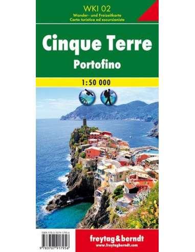 WKI 02 Cinque Terre - Portofino térkép