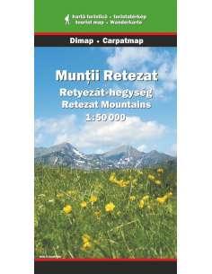 Retyezát-hegység térkép -...