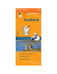 MN 501 Skócia térkép -...