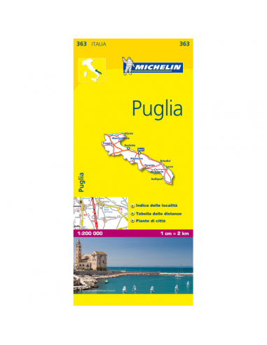 MN 363 Puglia térkép